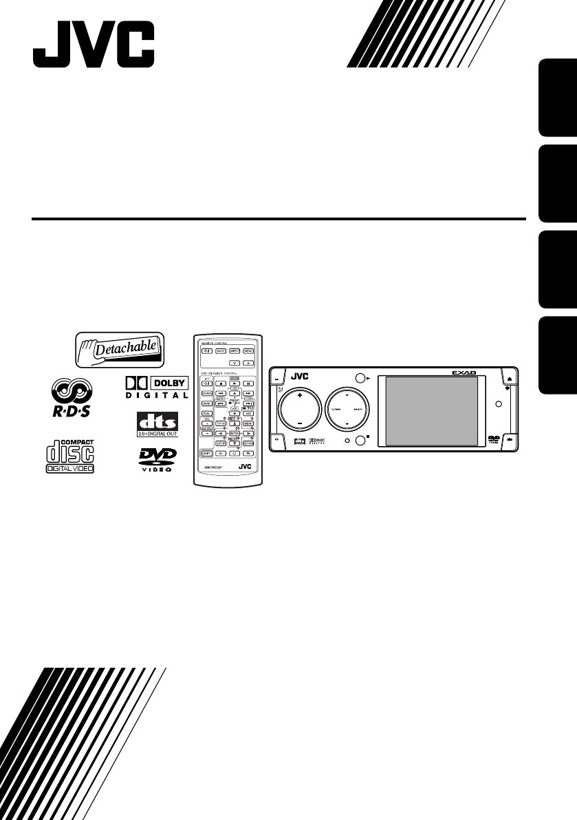 Manual JVC kd-avx1 (page 1 of 283) (German, English, French, Dutch)Libble.eu