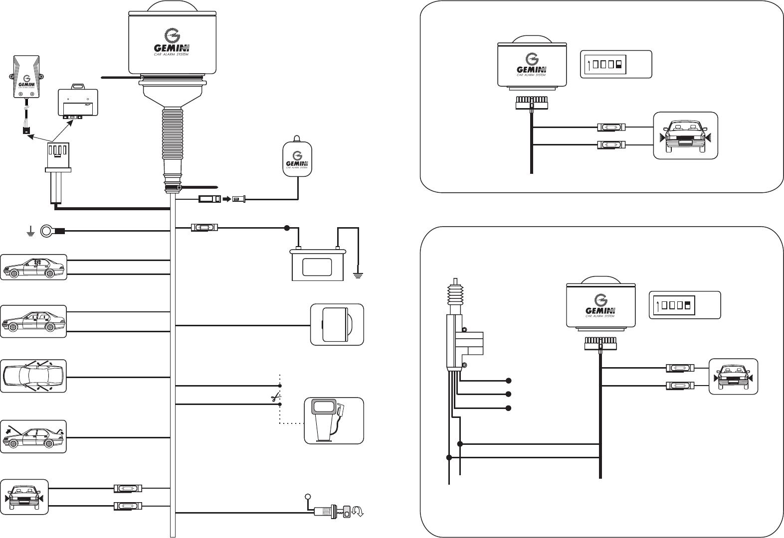 Manual Gemini 7056 (page 1 of 5) (English)   Gemini Car Alarm Wiring Diagram      Libble.eu