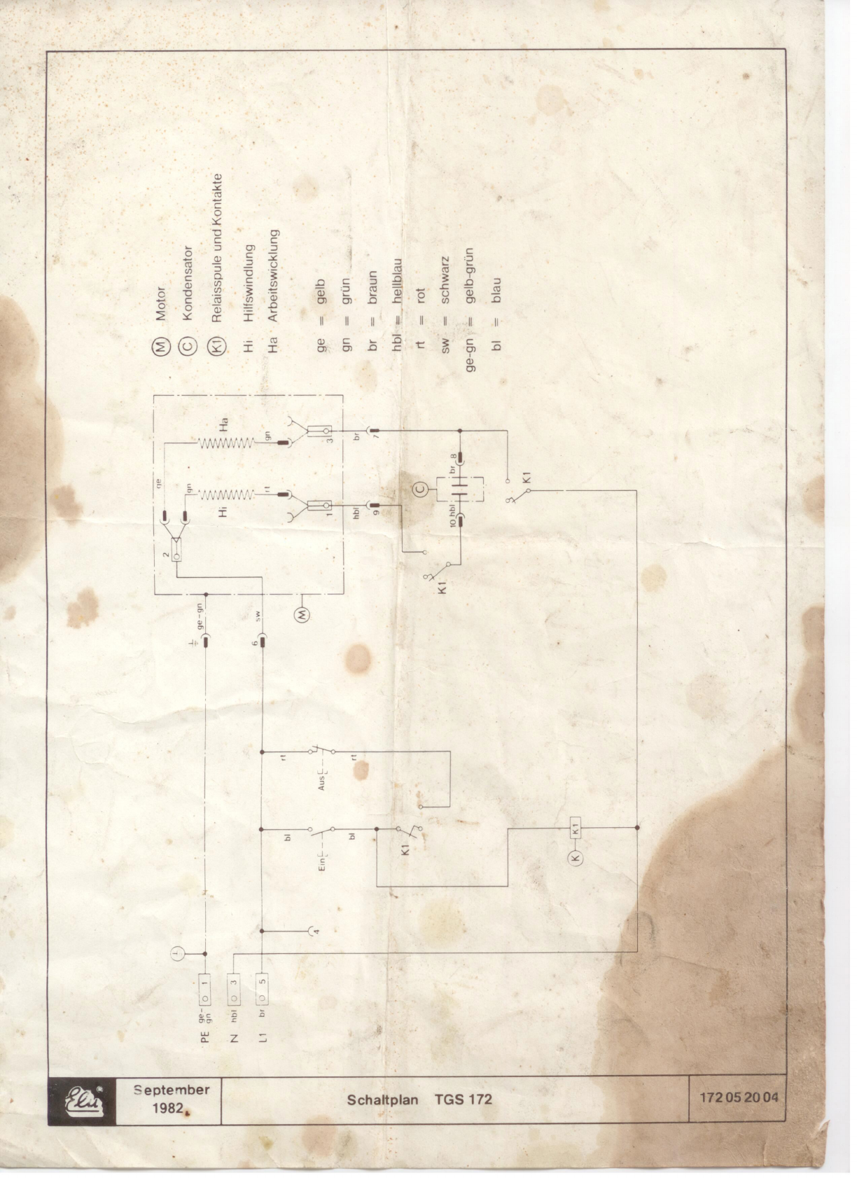 Manual Elu TGS 172 (page 19 of 21) (German, English, French)