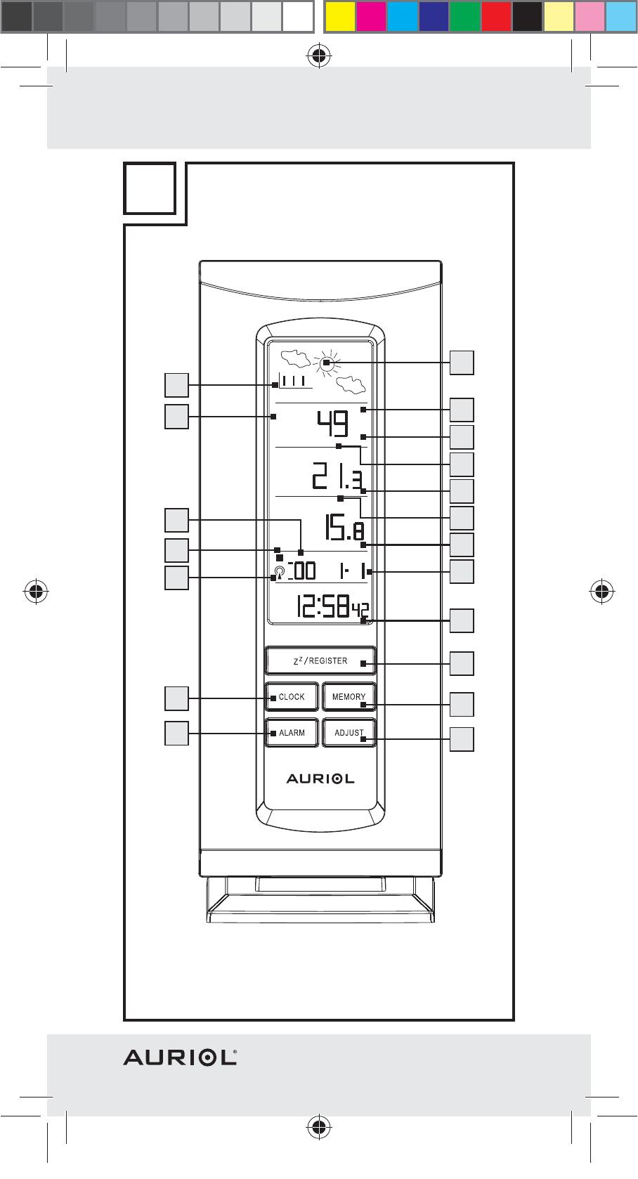 Manual Auriol Z29962a Ian 64089 Page 1 Of 94 German French