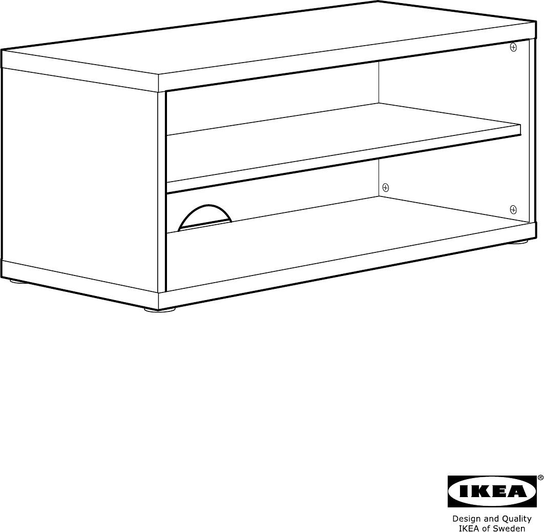 Ikea Mosjo Tv Meubel.Manual Ikea Mosjo Tv Meubel Page 1 Of 8 All Languages