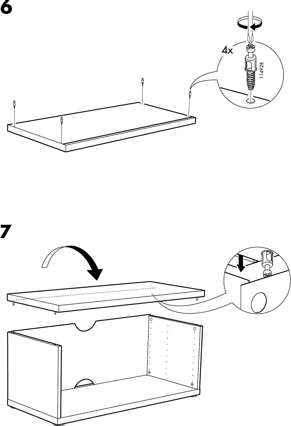 Ikea Mosjo Tv Meubel.Manual Ikea Mosjo Tv Meubel Page 4 Of 8 All Languages