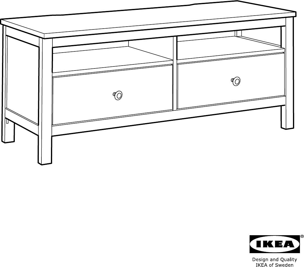 Hemnes Tv Meubel.Manual Ikea Hemnes Tv Meubel Page 34 Of 36 All Languages