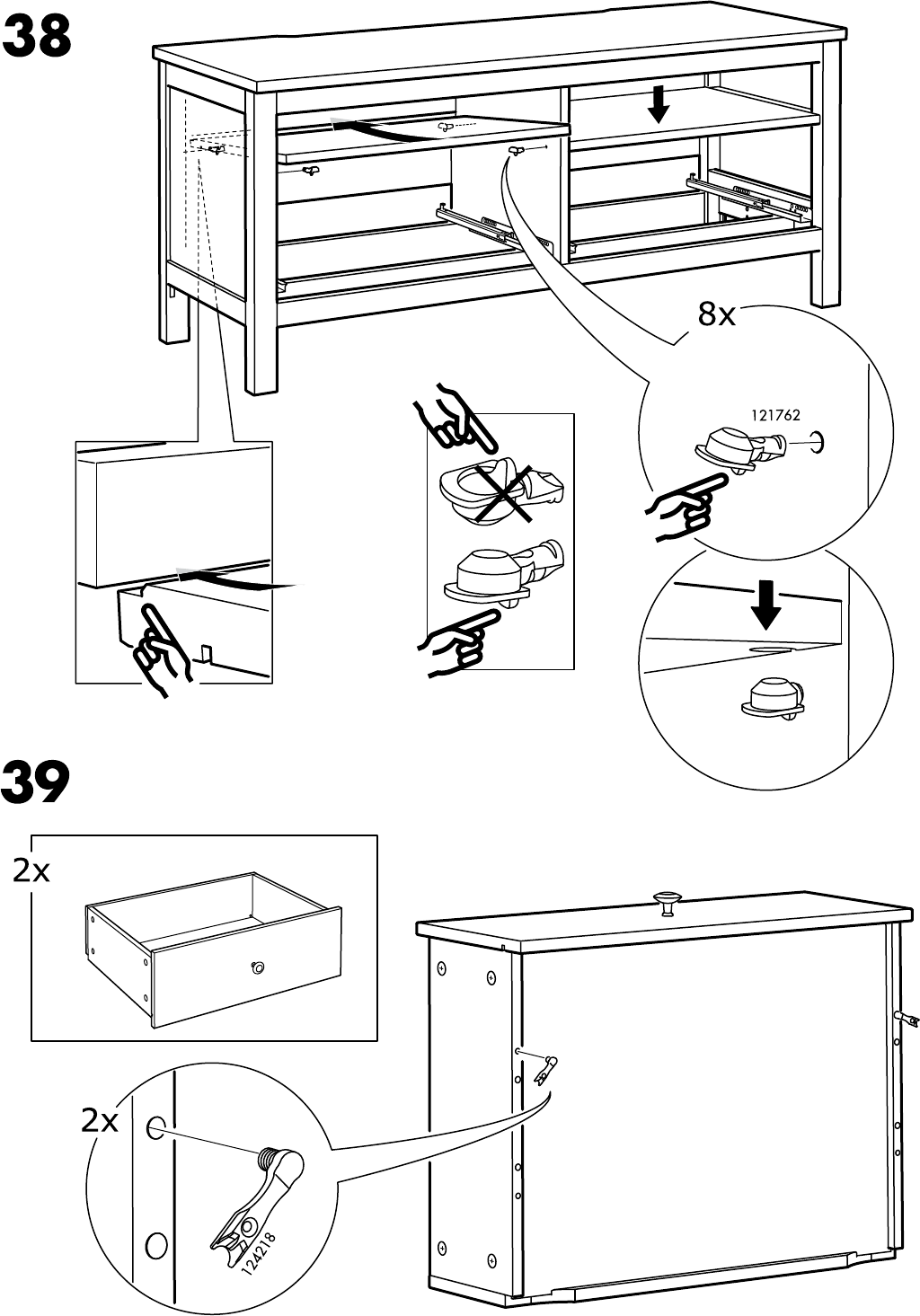 Hemnes Tv Kast.Manual Ikea Hemnes Tv Meubel Page 34 Of 36 All Languages