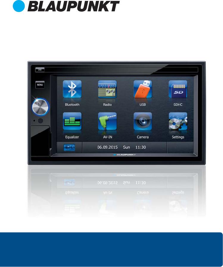 Blaupunkt San Marino 330 6.2 inch Touchscreen, Bluetooth ...
