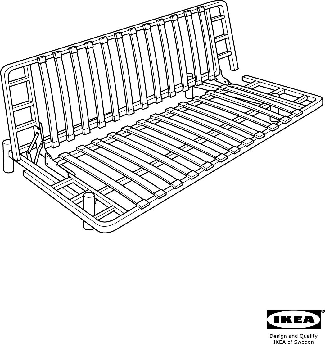 Beddinge Bedbank Ikea.Manual Ikea Beddinge Lovas Page 1 Of 8 All Languages