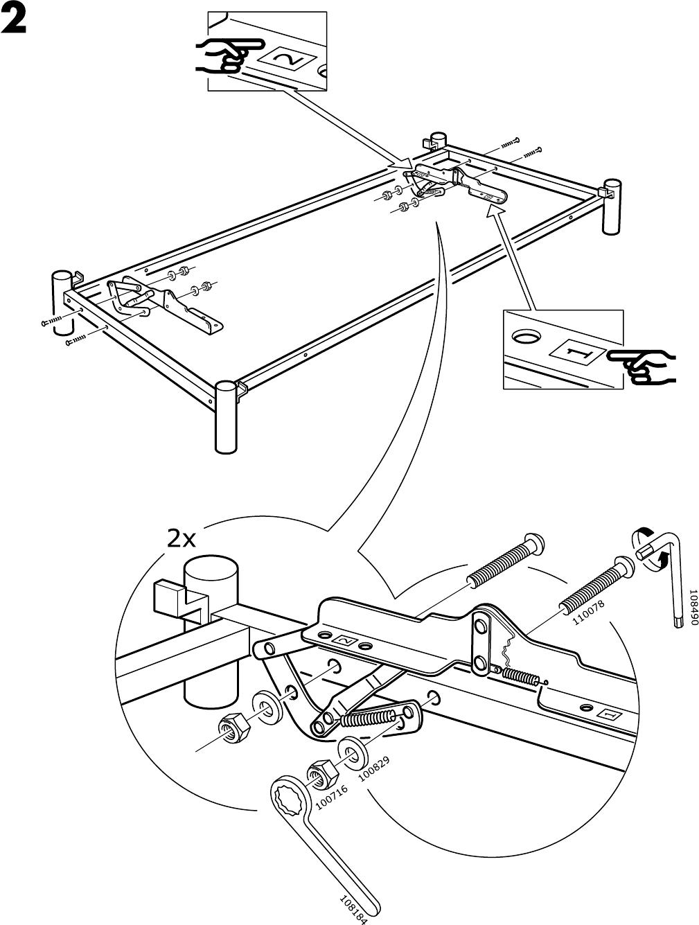 Beddinge Bedbank Ikea.Manual Ikea Beddinge Lovas Page 5 Of 8 All Languages