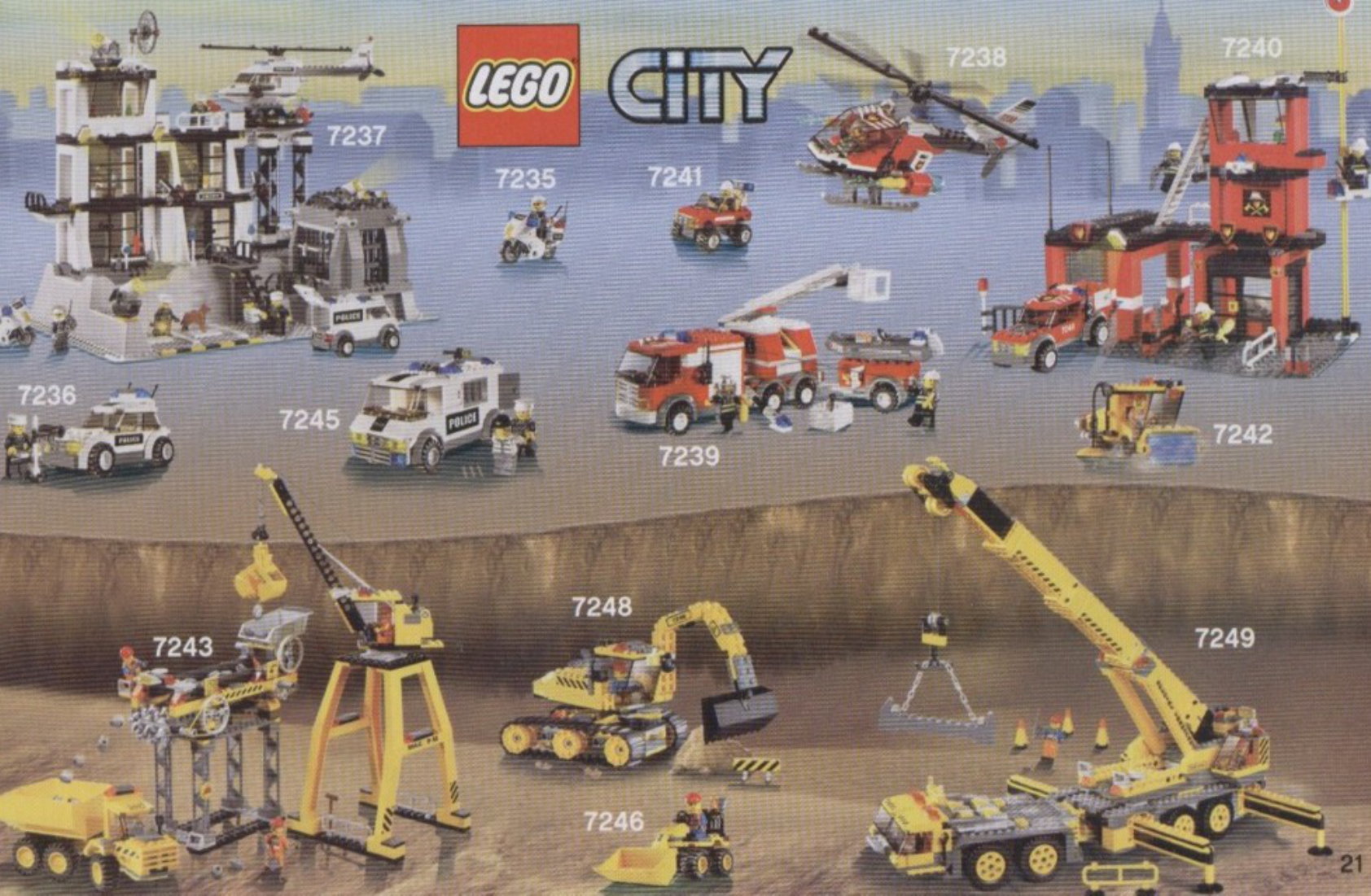 Manual Lego 7890 Page 20 Of 25 All Languages