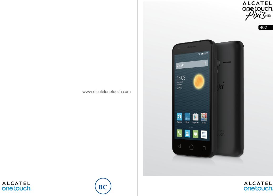 инструкция по эксплуатации смартфона алкатель pixi
