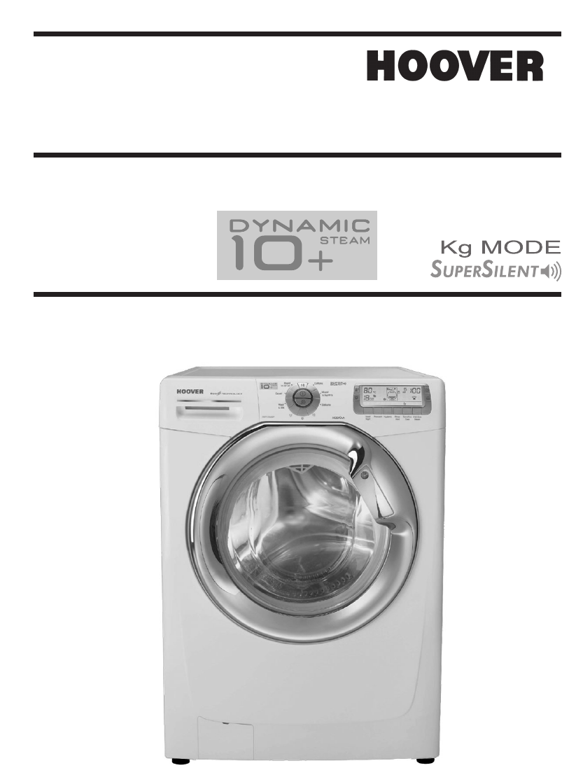Manual Hoover Dynamic Dst10146p 80 Page 1 Of 17 English Washing Machine Wiring Diagram
