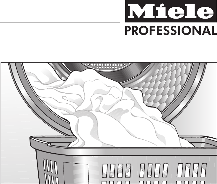manual miele professional pt 5135 c page 1 of 64 english