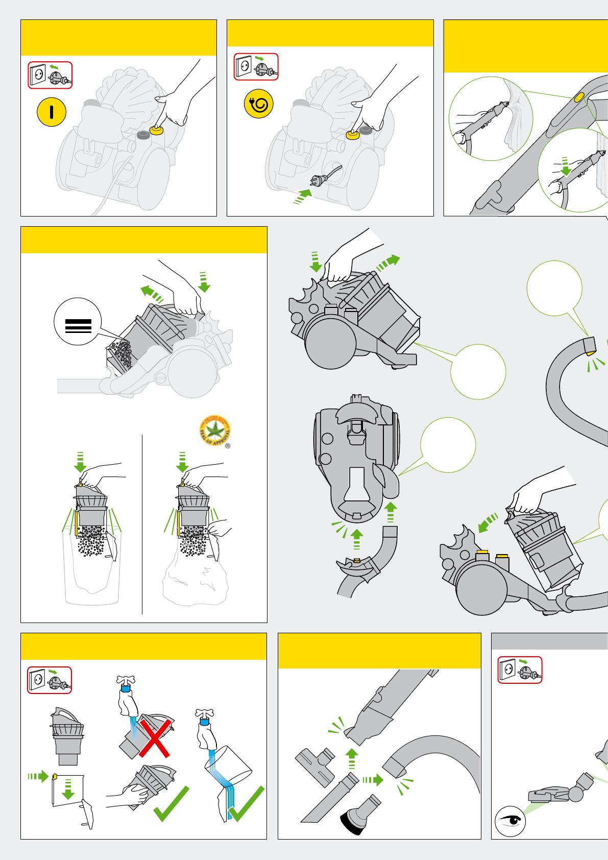 Dyson stowaway инструкция щетка дайсон как разобрать