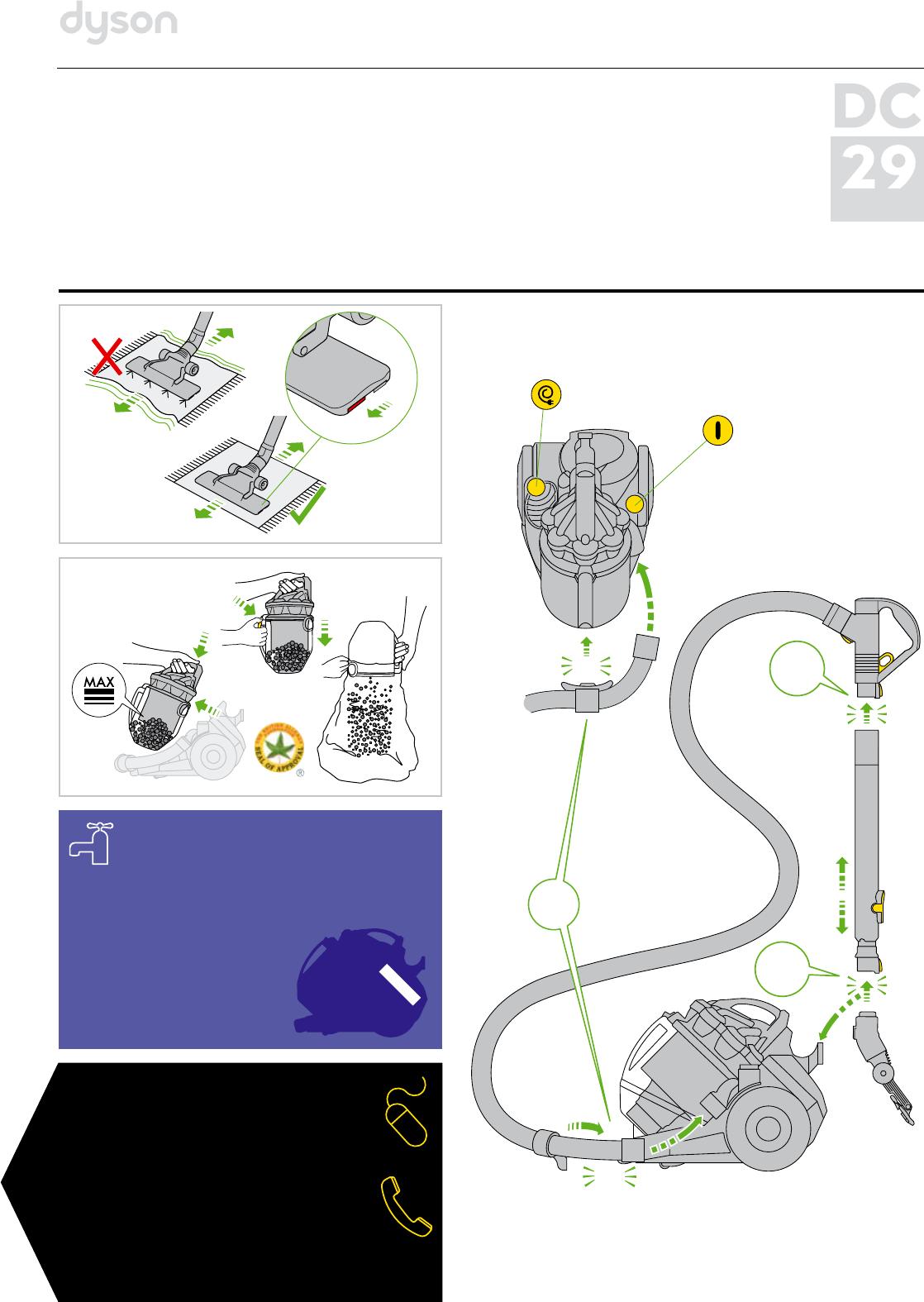 dyson ds29 инструкция