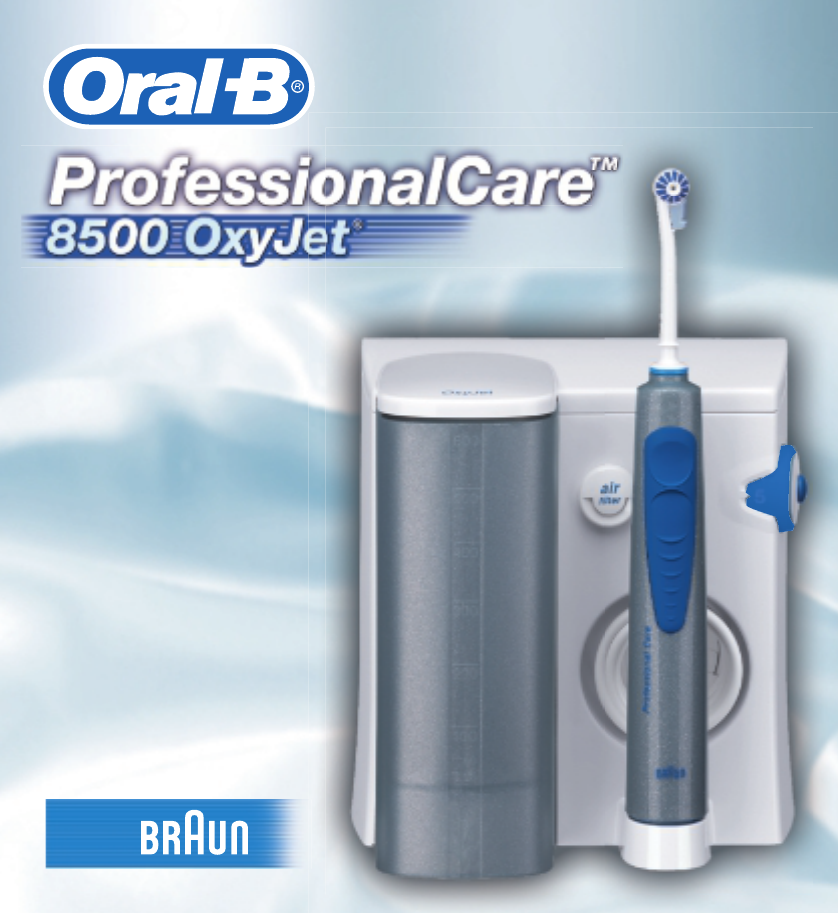 Oral B Triumph Instruction Manuals
