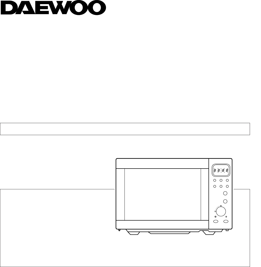 Manual Daewoo Koc 984t Page 1 Of 9