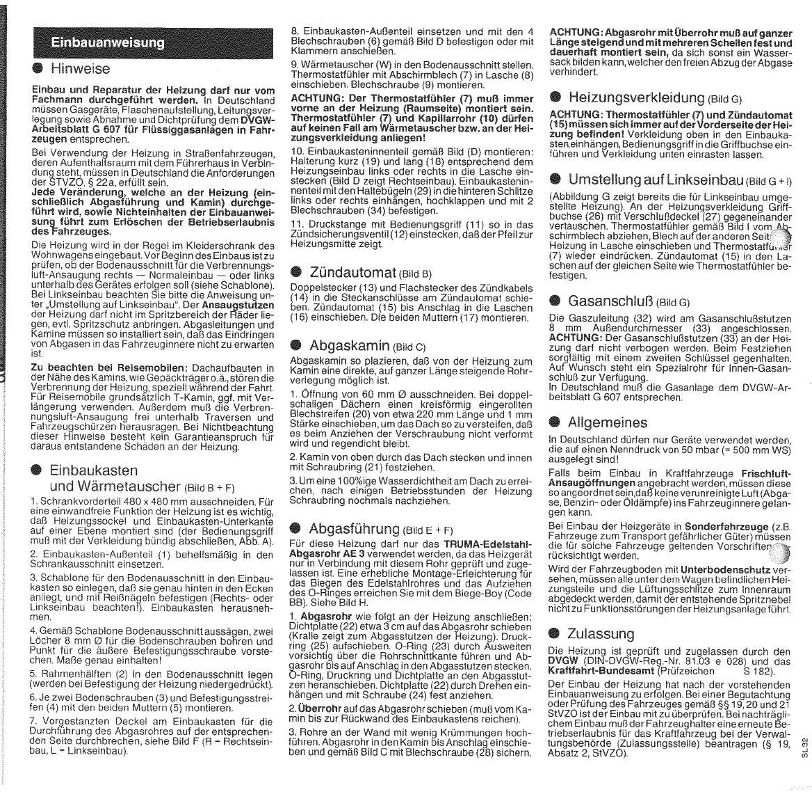 Manual Trumatic SL3002 (page 3 of 18) (German, English, French ...