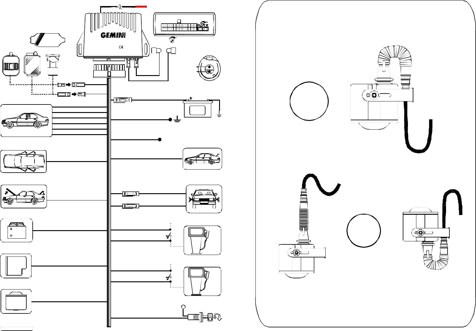 Manual Gemini 7590 (page 1 of 12) (English)   Gemini Car Alarm Wiring Diagram      Libble.eu