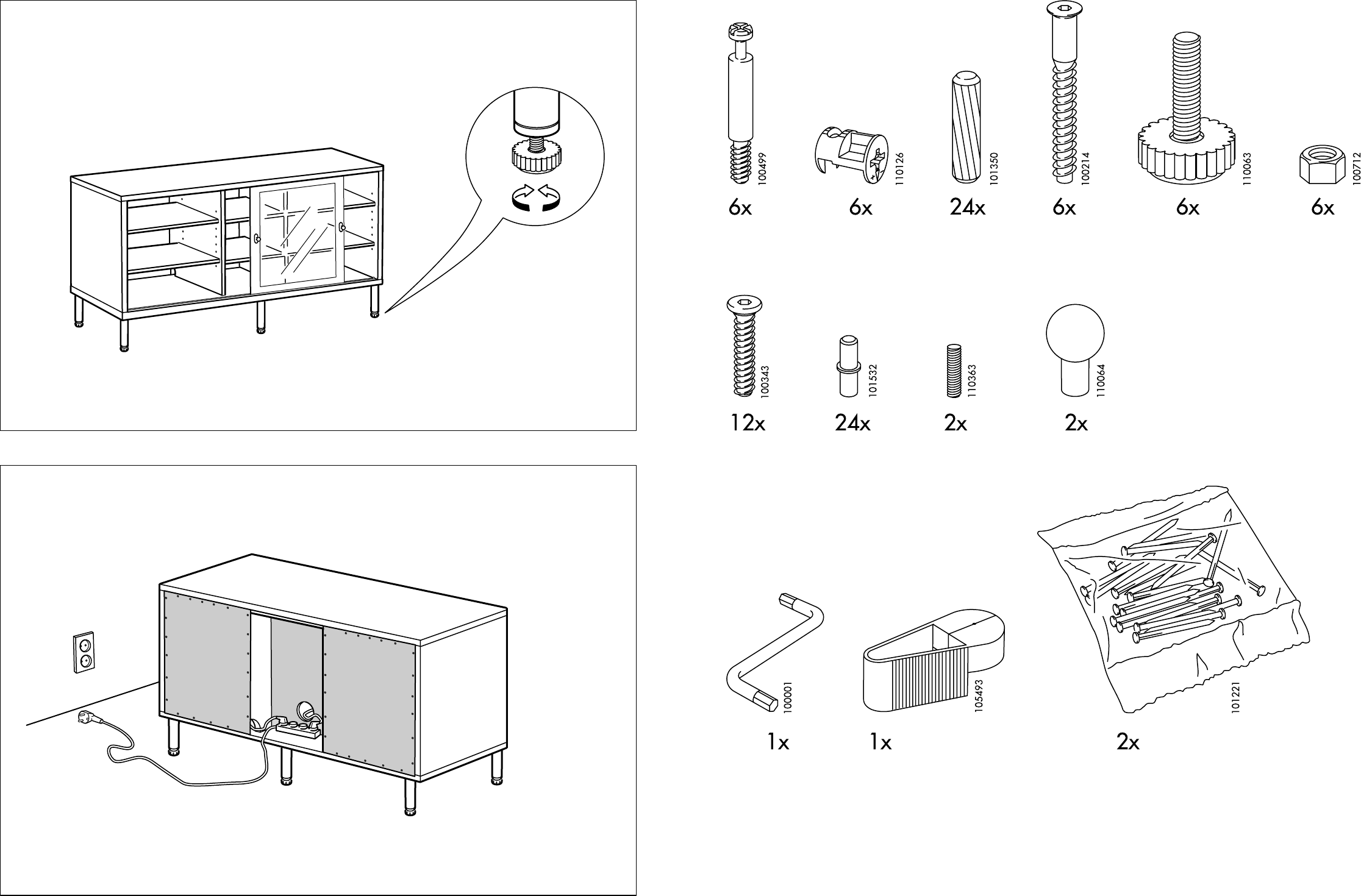 Ikea Tv Meubel.Manual Ikea Magiker Tv Meubel Page 3 Of 8 Dutch
