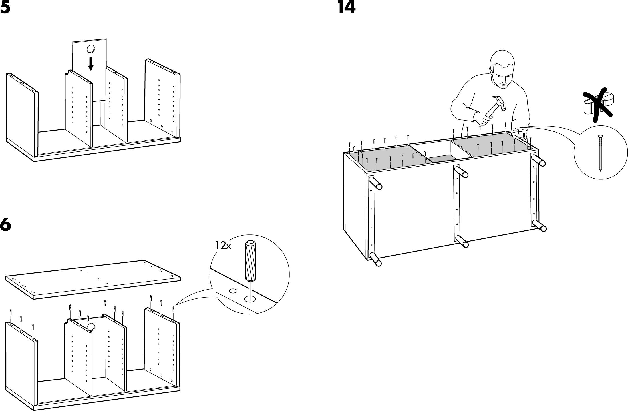 Ikea Tv Meubel.Manual Ikea Magiker Tv Meubel Page 7 Of 8 Dutch