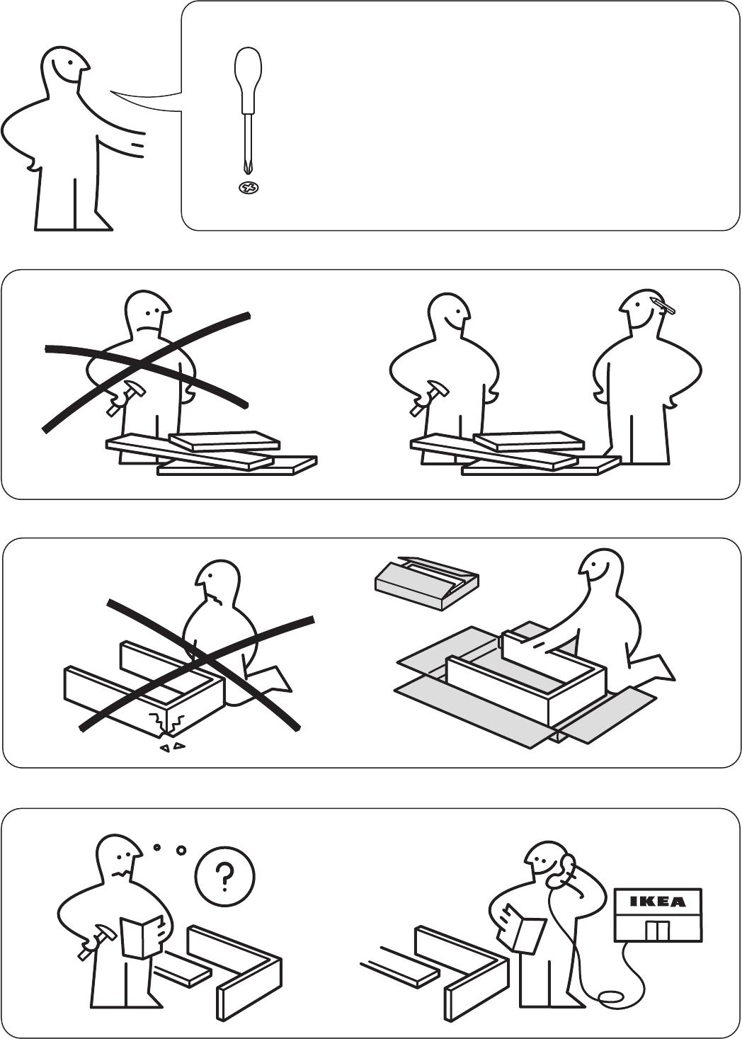 Wonderbaarlijk Manual Ikea GALANT Vergadertafel (page 2 of 8) (Danish, German LS-15