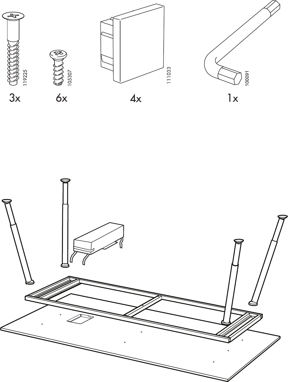 Welp Manual Ikea GALANT Vergadertafel (page 2 of 8) (Danish, German GR-29