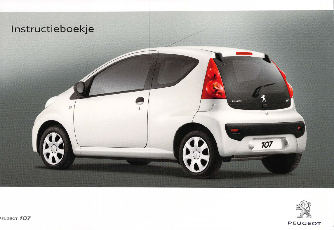 Manual Peugeot 107 Page 25 Of 102 Dutch