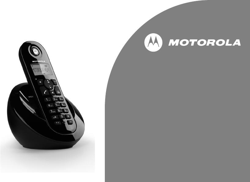 manual motorola c601 page 1 of 39 english rh libble eu Motorola 6.0 Digital Cordless Phone Motorola Cordless Phone Model L902