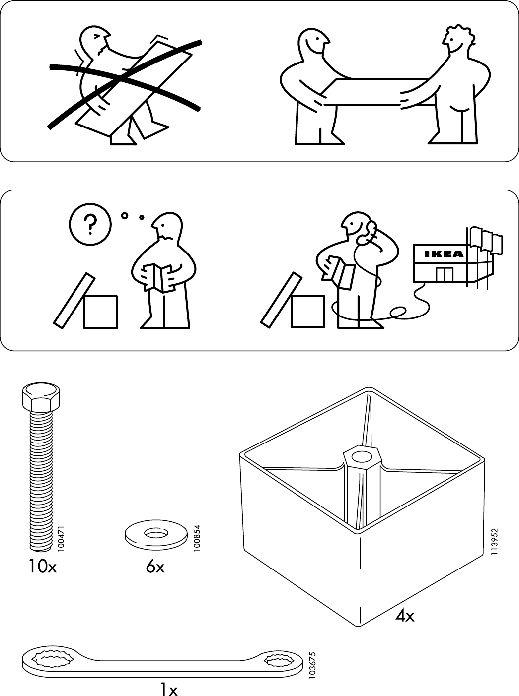 Bedbank Solsta Ikea.Manual Ikea Solsta Page 1 Of 8 All Languages