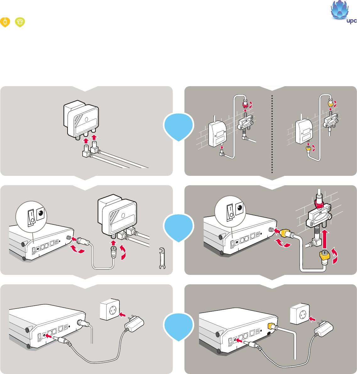 Manual Upc Upc Fiber Power Internet Page 1 Of 4 Dutch