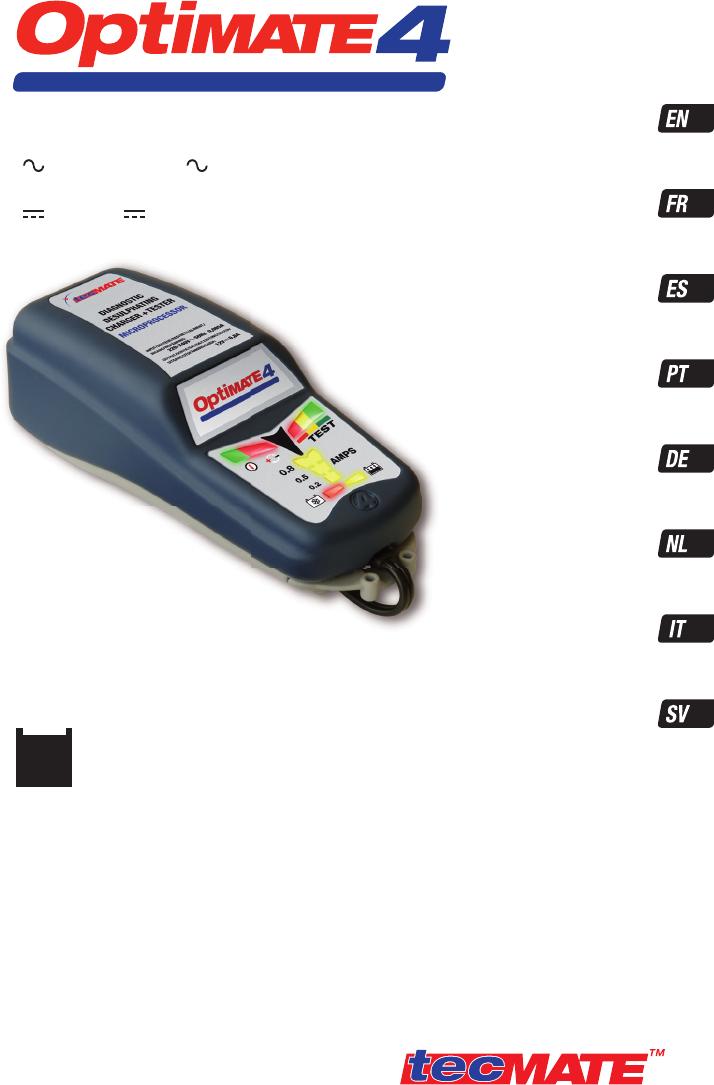 manual tecmate optimate 4 tm142dual page 1 of 44 german english rh libble eu optimate 4 user guide optimate 4 user guide