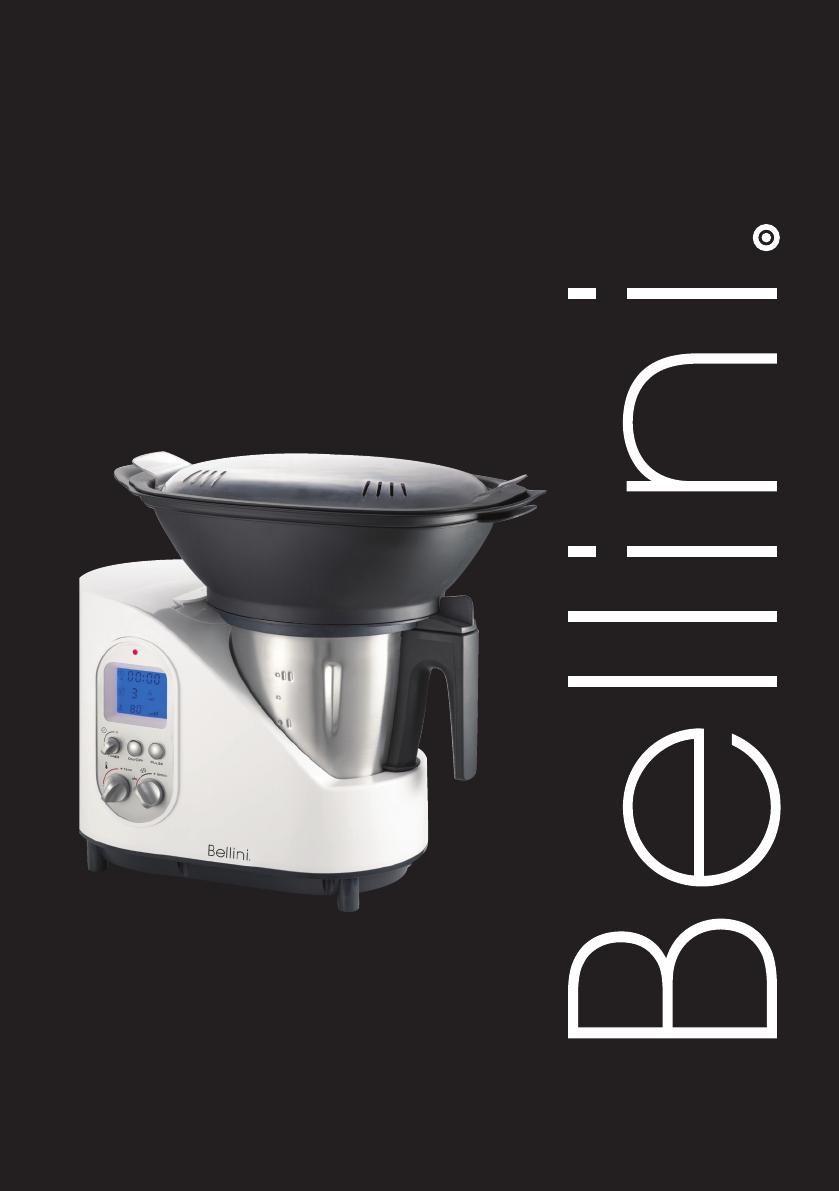 Manual Bellini Btmkm510w Intelli Kitchen Master Page 1 Of 16 English