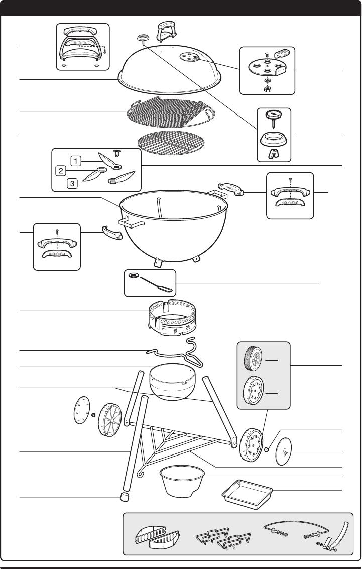 Manual Weber Original Kettle 57 cm (page 14 of 16) (German
